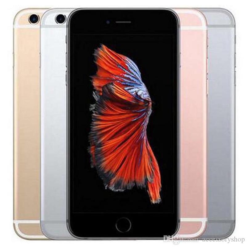 Refurbished Original Apple iPhone 6S 4.7 inch With Fingerprint IOS A9 2GB RAM 16/32/64/128GB ROM 12MP Unlocked 4G LTE Phone DHL 1pcs