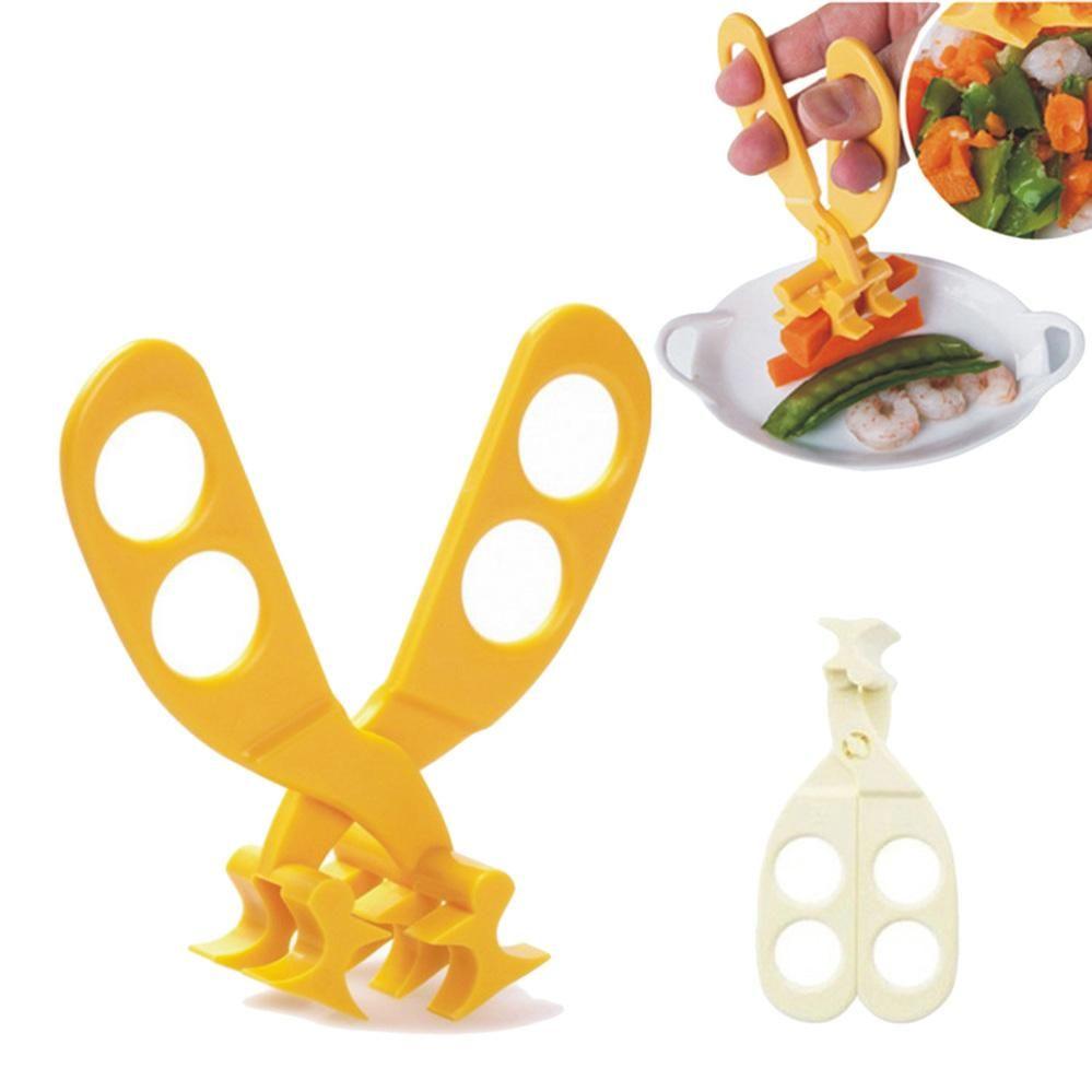 Nette Baby-Fütterung Lebensmittel Schere Baby-Nahrungsergänzung Schere Sicherheit # 10 Netter Baby-erschwinglichen Preis Datum qLNqA