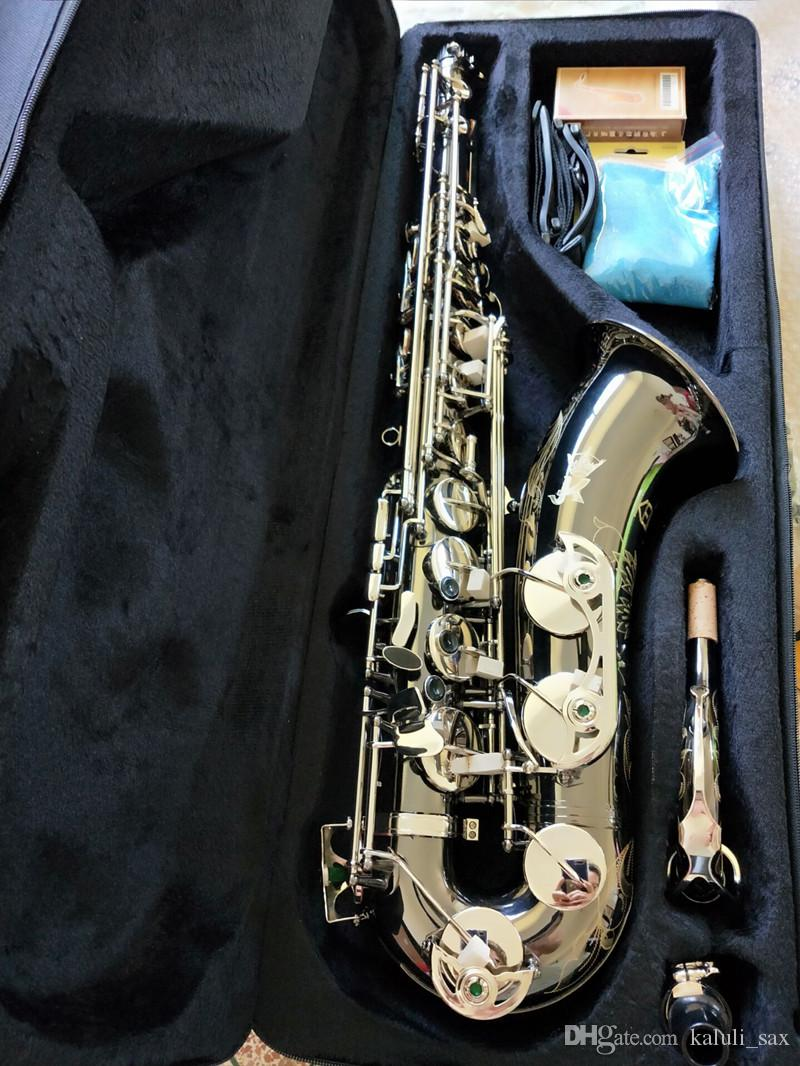 Kılıf ile Almanya JK SX90R Keilwerth% 95 kopya Tenor saksofon Nikel gümüş alaşımlı tenor Sax En profesyonel Müzikal enstrüman