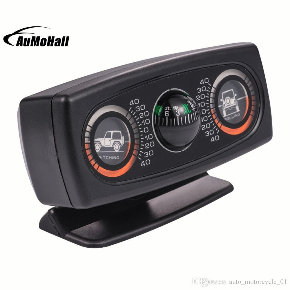 Multifunction Car Vehicle Compass Car Inclinometer Slope Measure Inclination Tool