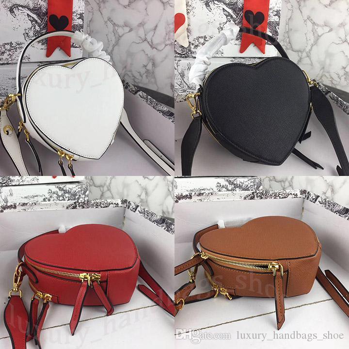 2019 бренд модельера бренд женщины Бумажников в форме сердца сумки дизайнер сумки женщины роскоши мешок Banane кошельки дизайнер Crossbody мешок