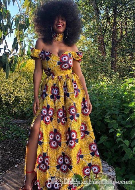 Bohème robes imprimées pour les femmes d'été Backless Slash Neck Luxury Designer Vêtements sexy Robes douces fraîches