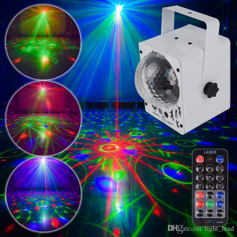Disco Laser Lights RGB Projector Party Lights DJ Lighting Effect for Sale LED for Home Wedding Decoration