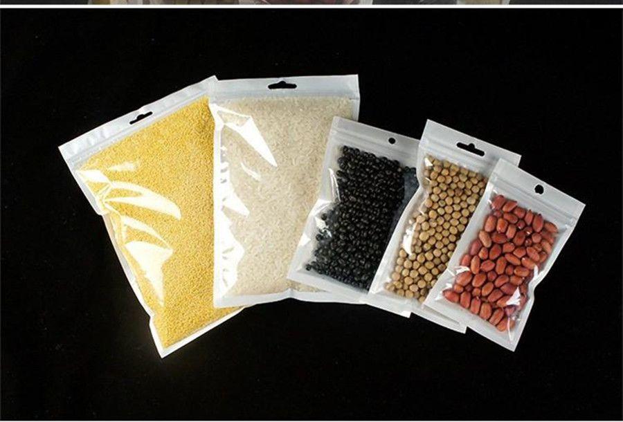 Sac en plastique Zip Pouch verrouillage Effacer sacs d'emballage Sac PVC pour Jewel Smart Phone Case Livraison gratuite