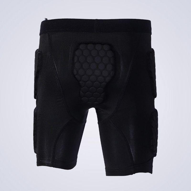 Pantalones cojín de EVA Hombres Mujeres protector extremo de la cadera para la actividad del patín del Snowboard de la cinta Hombres balones de fútbol pantalones del deporte del baloncesto de protección