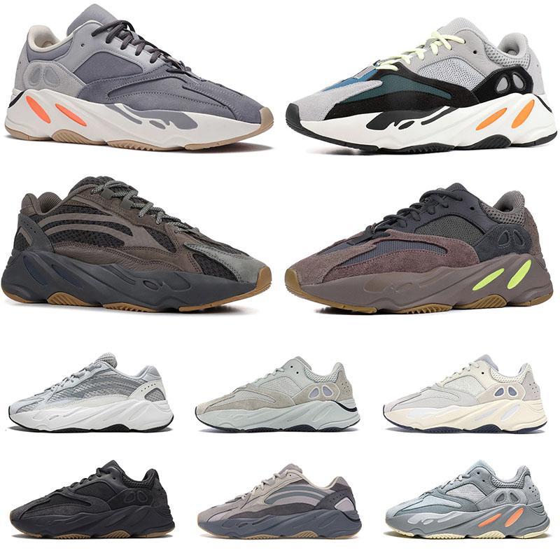 3M STATIC WAVE عداء 700 الأحذية مغناطيس النظير تيفرا VANTA الجيود سولت لإمرأة رجل عاكس lnertia أسود أبيض الرياضة حذاء رياضة حجم 46
