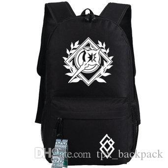 عجلة ظهر حقيبة خاصة حزمة اليوم الشعار مصير البقاء ليلة حقيبة مدرسية لعبة packsack طباعة حقيبة الظهر الرياضة المدرسية daypack في الهواء الطلق