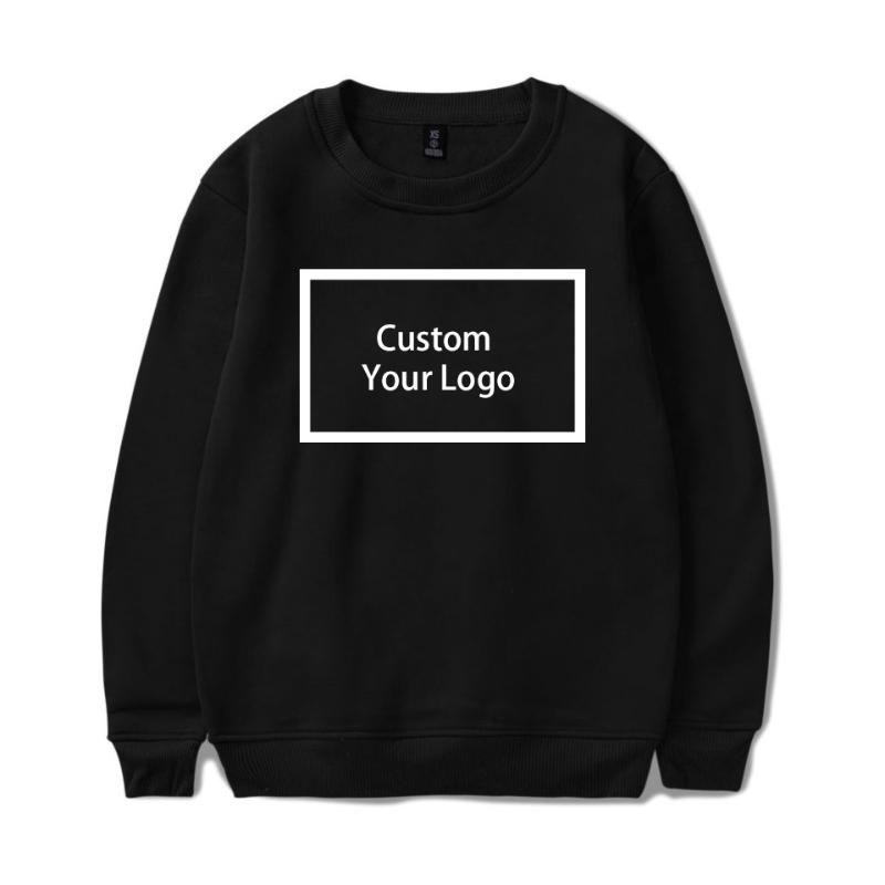WAMNI logotipo personalizado de impresión al por mayor sudaderas con capucha de algodón sudaderas con capucha unisex de bricolaje logotipo de la ropa de Calle envío de la gota