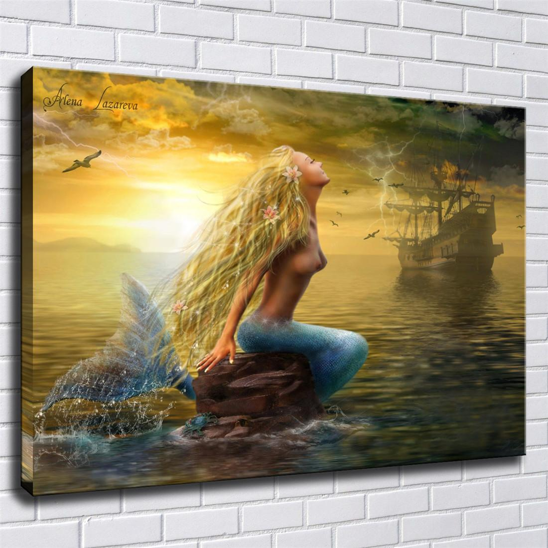 """LEOPARD SUNSET PAINTING WALL ART PICTURE BOX CANVAS PRINT 20/""""x16/"""" FREE UK P/&P"""