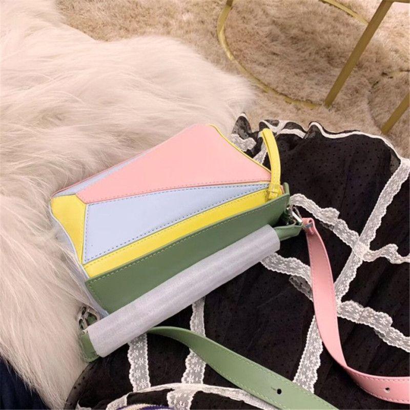 Tt Bag enigma grandes sacos de moda L0 saco perfeito única cor Shoulder Bag Geometria Pacote Hot Sale # Chegada Moda Estrada Tamanho 24 centímetros 15 Cm