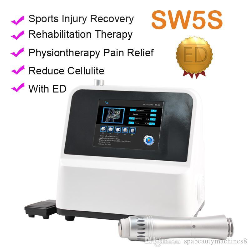 Macchina di terapia d'onda d'onda d'urto professionale Topsellering che dimagrisce la macchina per la terapia dell'onda dell'ondata di bassa intensità per il trattamento ED