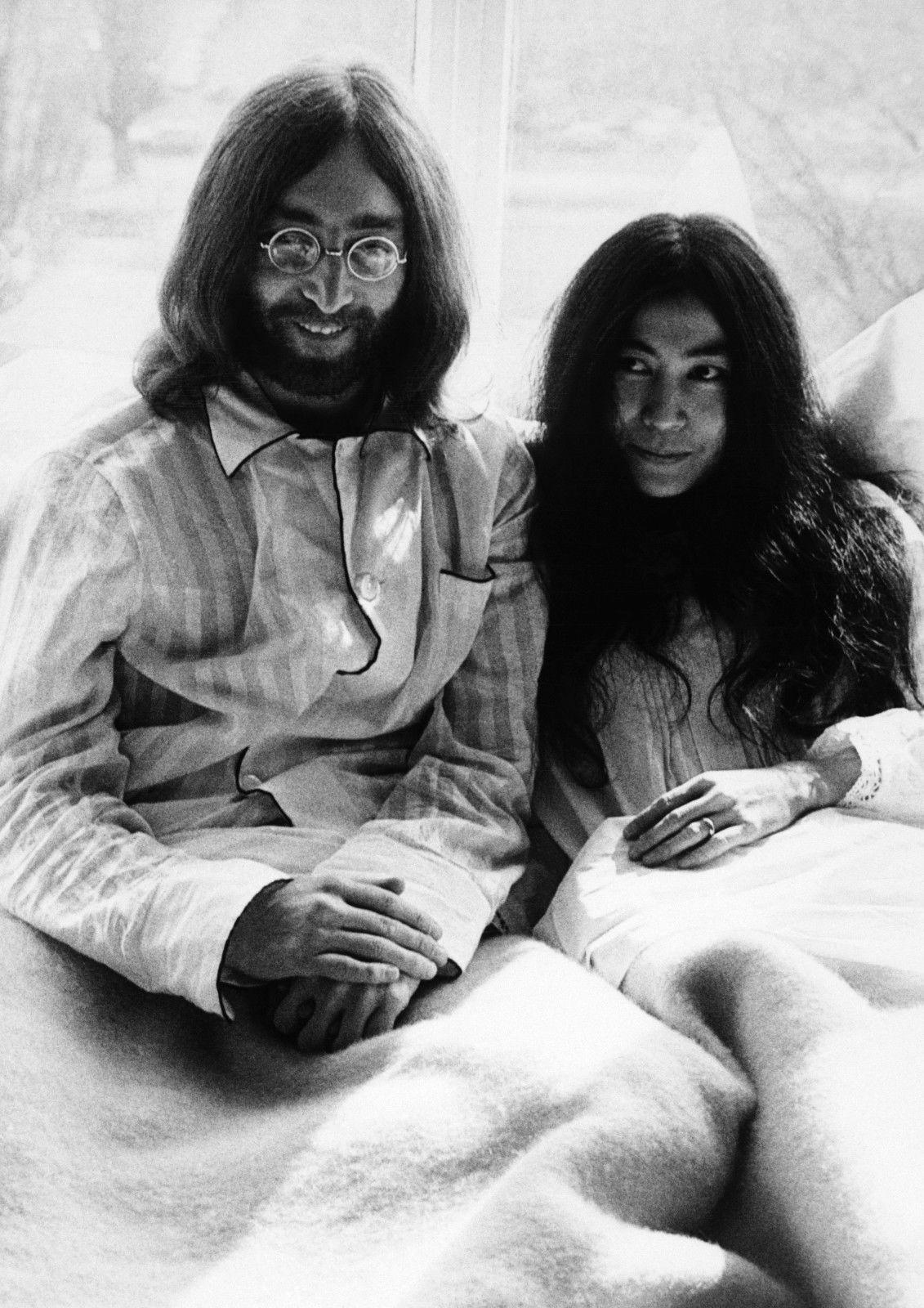 2020 John Lennon And Yoko Ono In Bed Art Silk Print Poster 24x36inch60x90cm 018 From Chuy8988 10 93 Dhgate Com