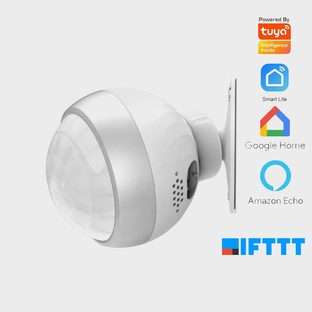 Security Smart home Alarms infrared sensor Tuya motion detector smart life APP wifi wireless movement body sensor light switch
