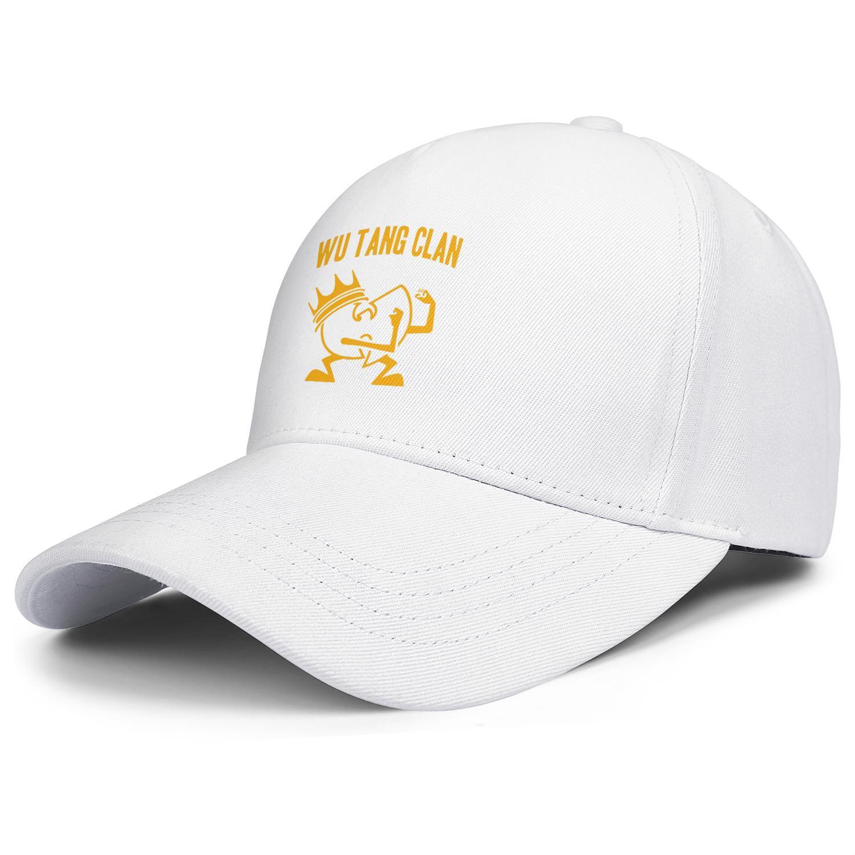 Wu tang clan fight mascot logo black mens and women trucker cap ball cool designer customize cute running hats