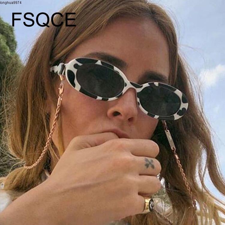 Rosas Ovaladas Retro Marca Diseñador Vintage Para Mujer, Gafas Sol Ojo De Gato Rosa,