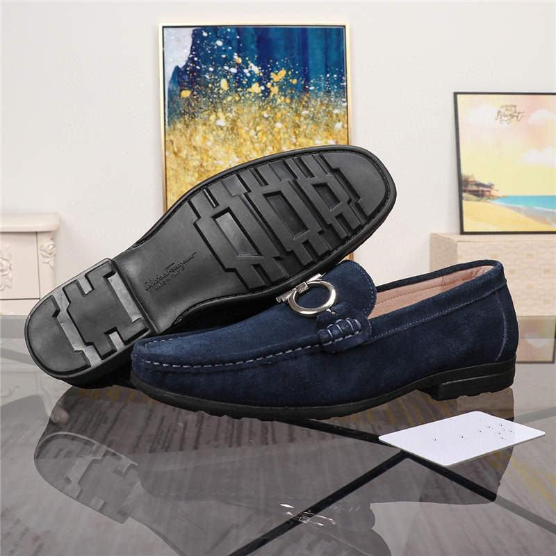 NEW Men s Loafers Top Peas Shoes Italian Cowhide Leather Muller Loafers STAR Leather Shoes AIR Fashion Casual Shoes Top Quality Designe