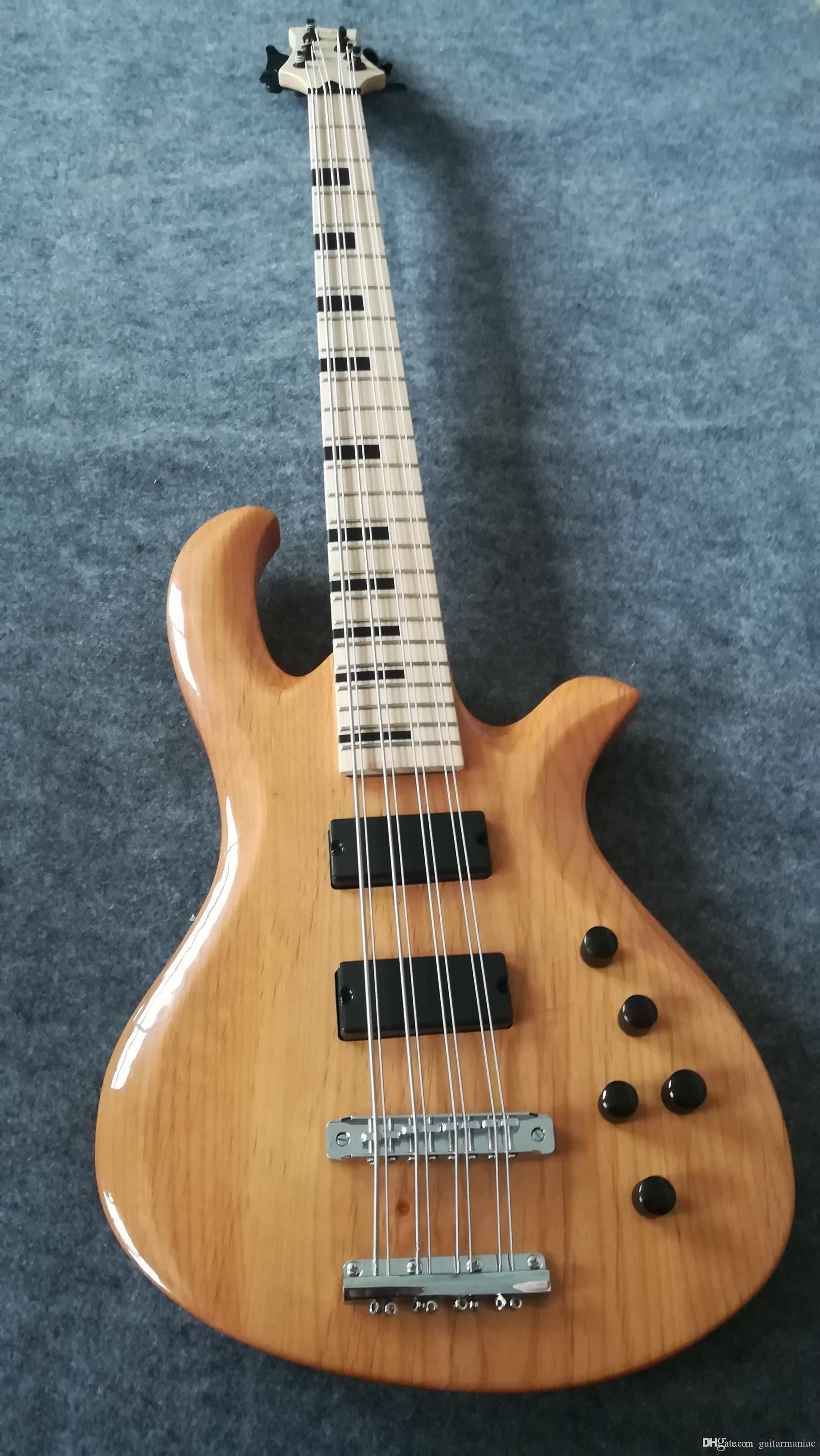 Sur mesure 8-Chord basse électrique. Nouveau Très bon basse électrique OEM Guitar Power Electronics Plus. Livraison gratuite usine chinoise a fait à l'ordre