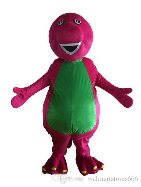 2019 alta qualidade barney mascot costume fancy party dress dia da páscoa traje