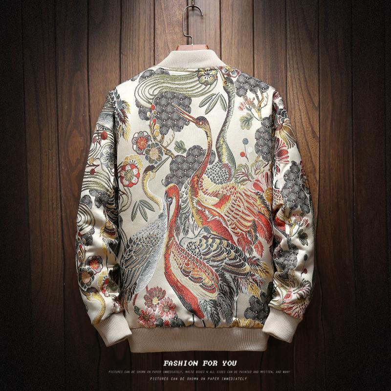 Windbreaker Куртка бомбардировщик куртка Kot Hop Streetwear Мужчины бедра моды мужские Ceket Erkek мода мужчины JJ60JK DSWLP