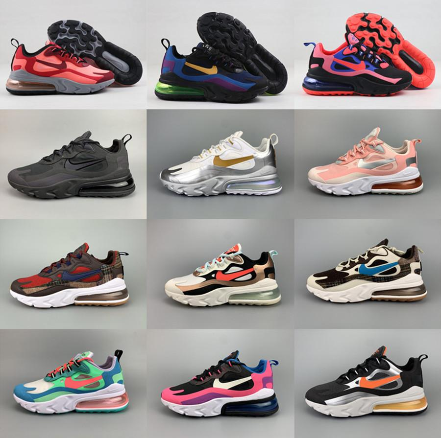 New Air Max 270 React Men Women Running Shoes Bauhaus Optical Anthracite Phantom Triple Black Hyper Jade 27c Trainers Sport Sneakers Walking Shoes Flat Shoes From Hyhshop 43 87 Dhgate Com
