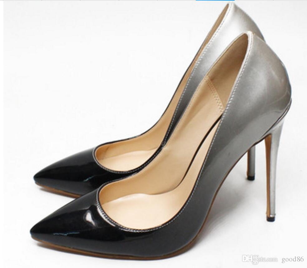 Guoar 8.5CM High Heel Pointed Toe Stiletto Pumps Women Shoes