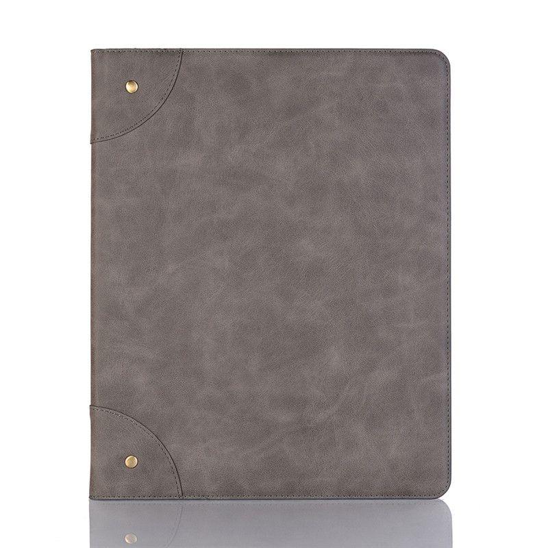 Кожаный чехол для iPad pro 12.9 2017 для iPad 9.7 2018/2017 mini123 10.5 11-дюймовый держатель карты Премиум Filp Крышка подставки для бизнеса Защитный чехол для бизнеса