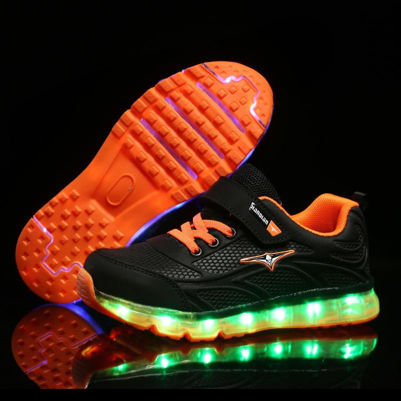 RISRICH Kids Led Tennis Shoes For