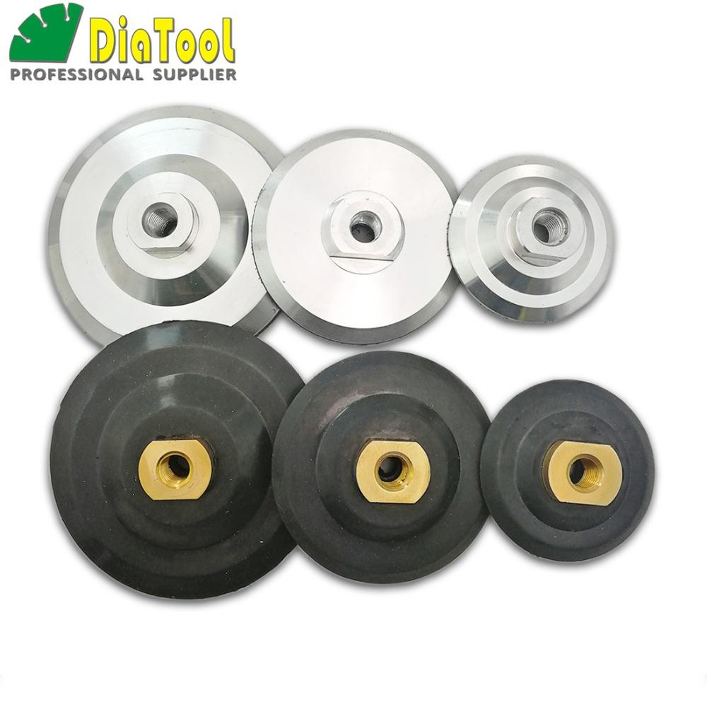 "6 Pieces 5/"" Back Holder//Backer Pads for Diamond Polishing Pads 5//8/""-11 Thread"