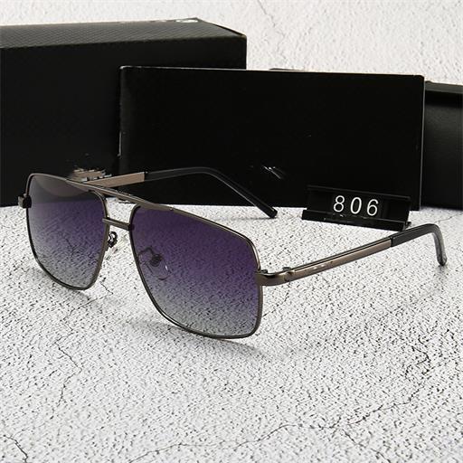 Nuevas gafas de sol UV de lujo, los hombres de alta calidad de pesca gafas redondas, gafas de sol de las mujeres de moda