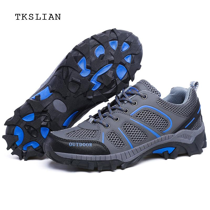 Outdoor shoes men platform sneakers Breathable Creek shoes male non-slip Hard-Wearing rubber quick-dry Mans footwear Unisex