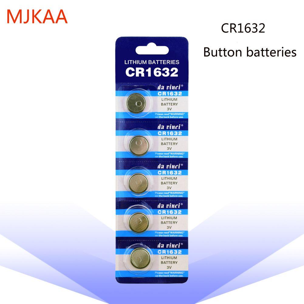 مصنع بالجملة 100PCS زر البطارية CR1632 بطارية ليثيوم زر بطارية 3V LM1632 BR1632 ECR1632 CR 1632 الالكترونية ووتش لعبة التحكم عن بعد