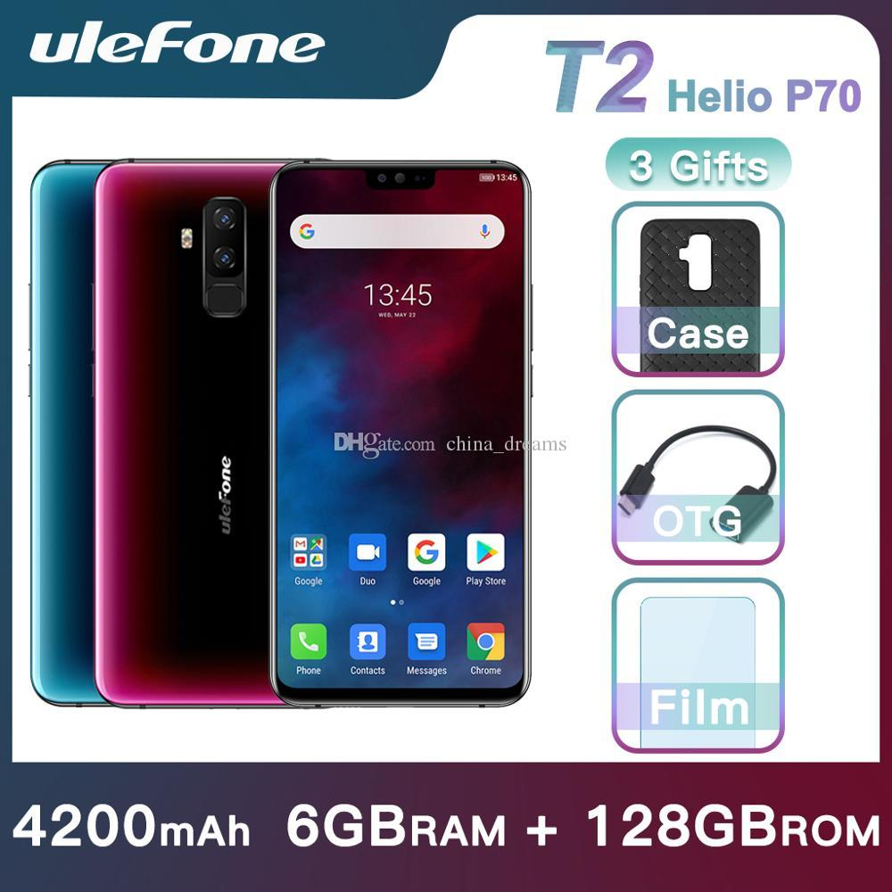 Ulefone T2 Android 9.0 Mobile Phone Global Band 6.7-inch 16MP Support 2/3/4G Dual Sim and Standby GPS Smartphone