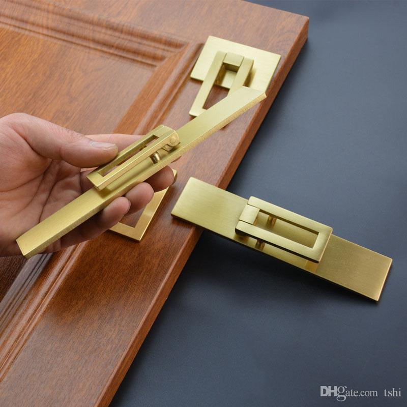 2021 Gold Brass Cabinet Pulls Bedroom, Bedroom Furniture Pulls And Handles