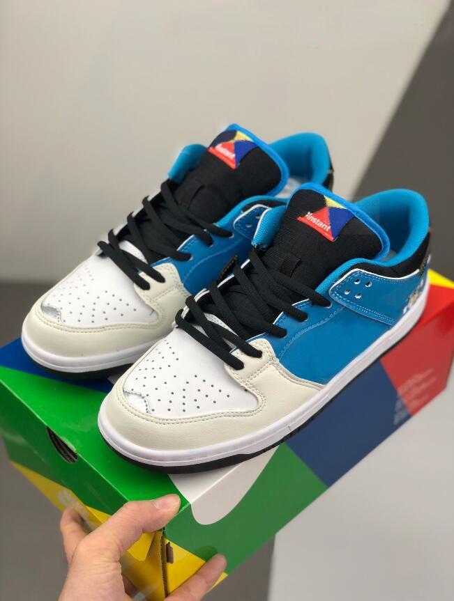 Kadınlar Erkek Tasarımcı Sneakers Japonya Skateborad Eğitmenler Boyutu 36-45 Ucuz Yeni SB Dunk Düşük Anlık 2020 Koşu Ayakkabı