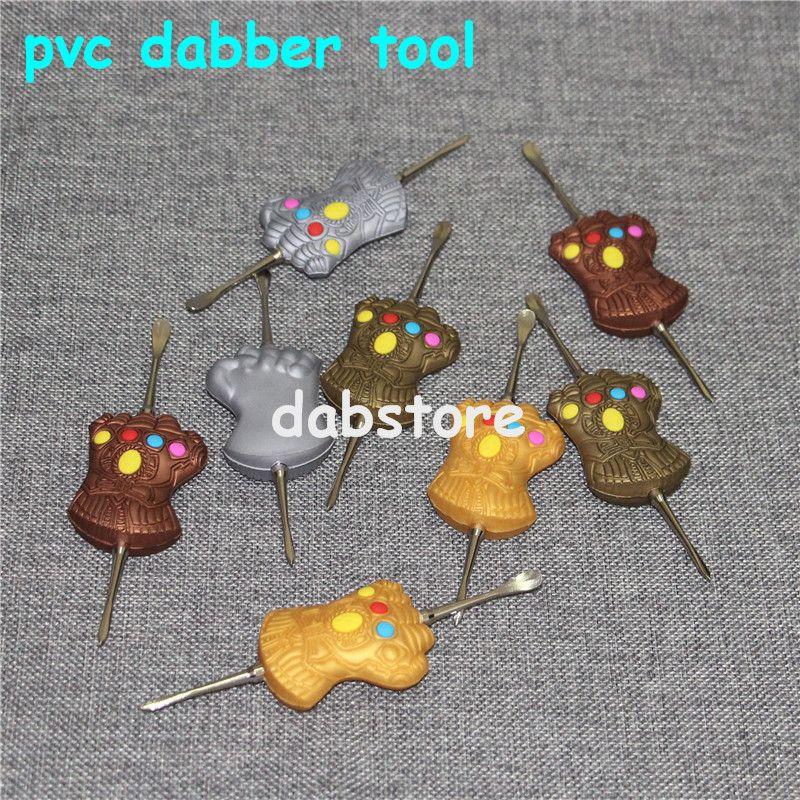 120 мм набор инструментов DAB Воск Dabber набор инструментов Алюминиевая коробка упаковки Vax распылитель титановый гвоздь Dabber инструмент Для сухой травы испаритель ручка