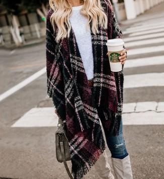 Mode féminine Cardigan Designer Cardigan à carreaux à manches longues Cardigan pour Vêtements femme