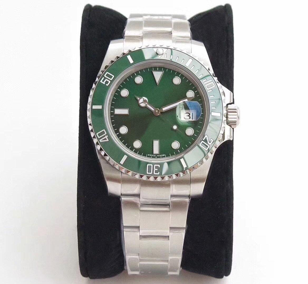 мужские часы сапфирового стекла 116610 керамическая рама 40 мм 2813 движение автоматические механические часы из нержавеющей стали Водонепроницаемый Световой