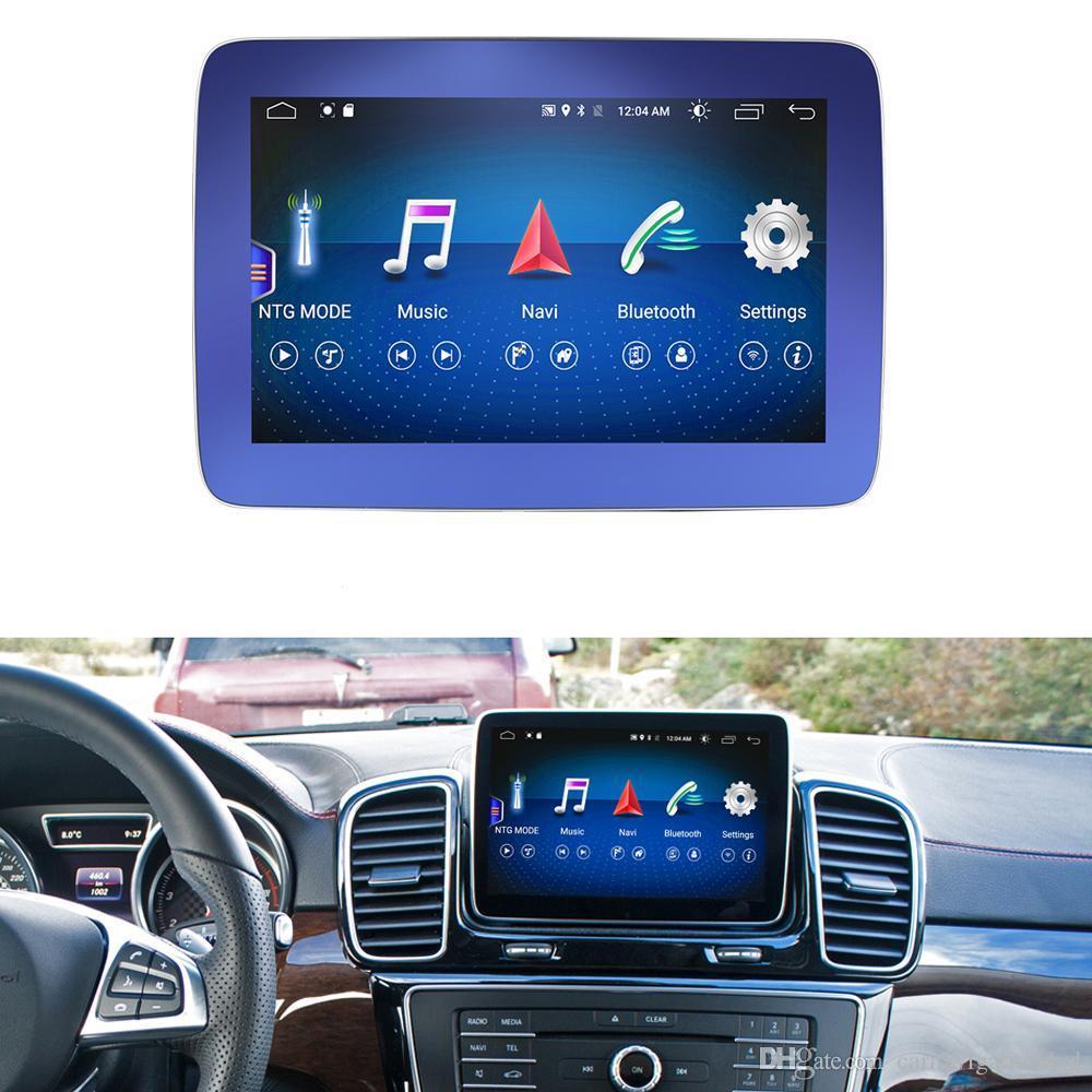 "4G+64G 8.4"" Android Display Car Radio Multimedia Monitor GPS Navigation Head Unit for Mercedes Benz ML350 ML400 ML550 ML250 ML350 ML63"