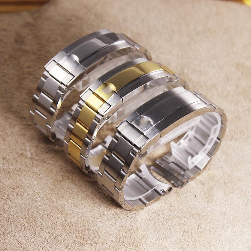 20 millimetri in acciaio inox cinturino Per Rolex Sub-Mariner Strap Wristband