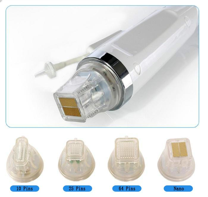 Micro Needle Face Care Radiofrequency Fractional Microneedle Gold Cartridge Fractional Disposable Replacement Head RF Fractional