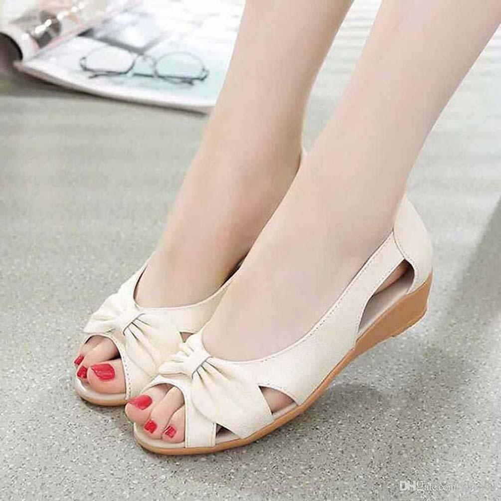 Flip Flops Loafers Schuhfrauenschuhe Sandalen High Quality Fersen Pantoffel Huaraches Für Pantoffel shoe04 PL124