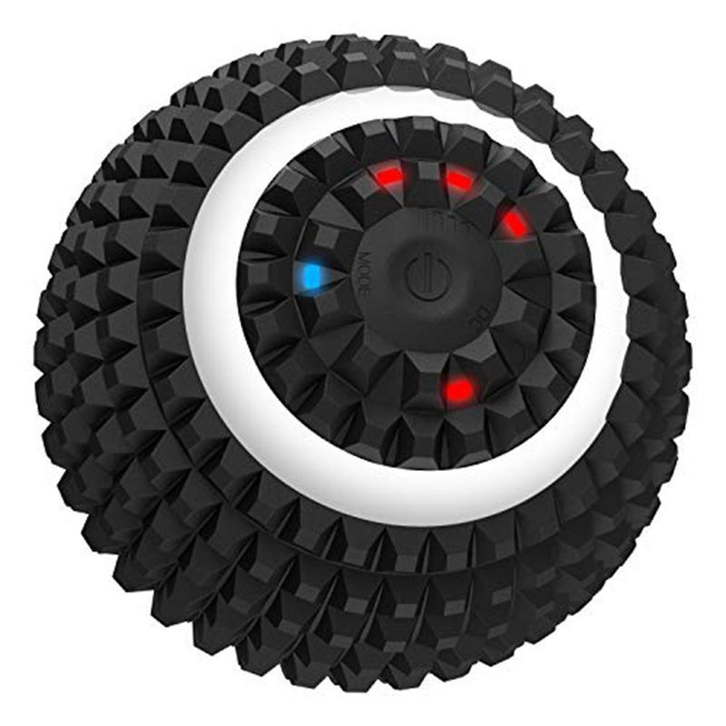 Electric Hot sfera di massaggio a 4 velocità vibrazione della sfera di massaggio del USB Roller ricaricabile di addestramento di yoga Roller Fitness Foam