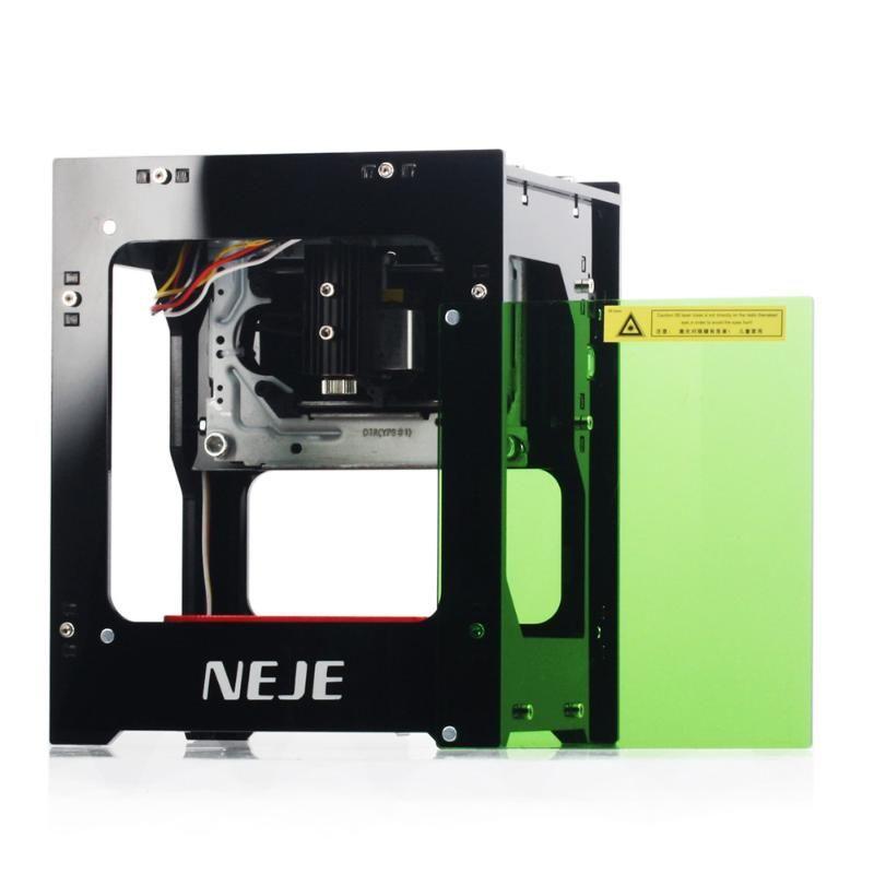Supporta NEJE DK-8-KZ 3000mW Laser Engraver 445nm intelligente AI Mini macchina per incidere off-line fai da te Operazione Stampa intaglio macchina