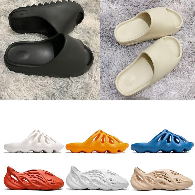 Adidas yeezy slides Stock X 2020 Foam runner kanye west clog sandles triple slids fashion slipper women mens tainers designer beach sandals flops