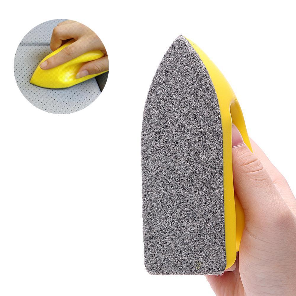 Kuulee Brosse de nettoyage de voiture feutre lavage outil pour les soins auto de sièges en cuir voiture Détailler intérieur Accessoires