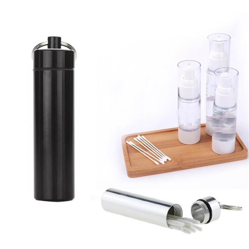 Impermeabile Porta Pocket stuzzicadenti Eco-Friendly Toothpick Ultralight portatile pillola Paliteiro lega in titanio contenitore della cassa