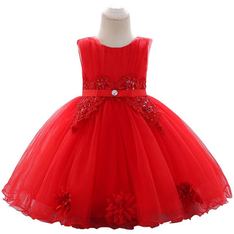 الأطفال عبر الحدود 2019 جديد غسل ثوب مطرزة مطرز التطريز الطفل الأميرة اللباس صائق فستان الزفاف