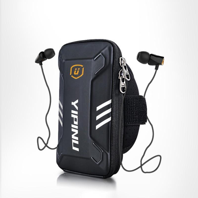 Sport Plein Air Sac Brassards unisexe cas sur Zipper main carte de téléphone portable Porte-monnaie Sac pochette Sacs en cours de remise en forme Accessoires