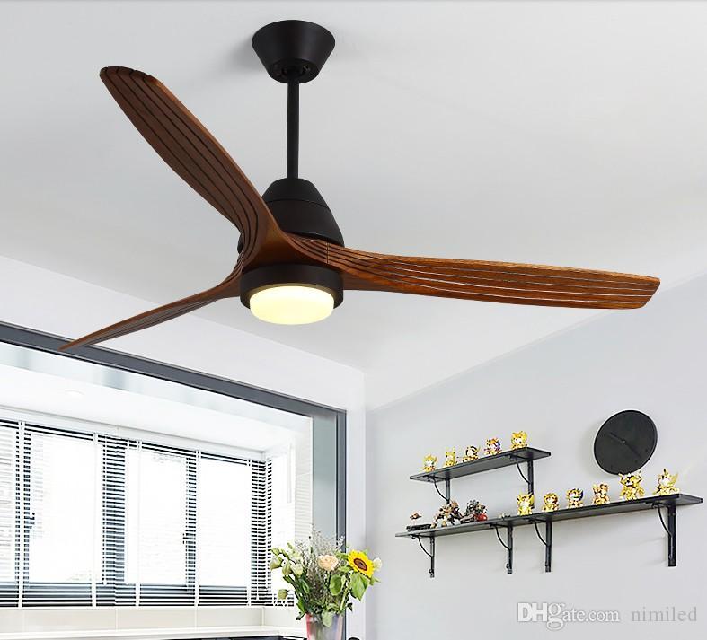 DEL Ventilateur plafond lampe salon salle refroidisseur éclairage Ventilateur Plus Chaud Blanc