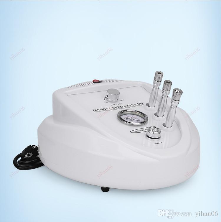 Top buena calidad Diamond Microdermabrasion Peeling facial piel Dermabrasión micro para el cuerpo Máquina de terapia facial Spa salón hogar USO